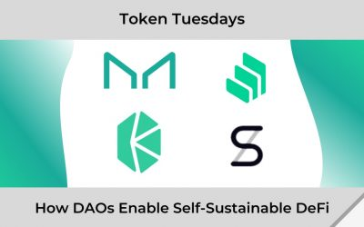 How DAOs Enable Self-Sustainability in DeFi